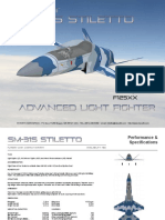 SM-31S STILETTO LF F125XX TAIWAN LINECARD 2020 METRIC