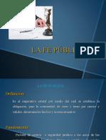 FE PUBLICA, RELACIÓN NOTARIAL Y AUXILIARES DEL NOTARIO (1)