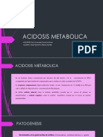 ACIDOSIS METABOLICA c