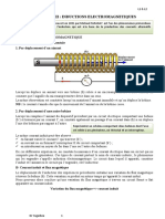 chapitre 3 induction cours sur l'electromagnetisme