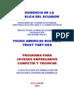 PROGRAMA PARA JÓVENES EMPRESARIOS_ COMPETIR Y TRIUNFAR