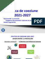 Pregătirea documentelor naționale de programare (acțiuni 2019)