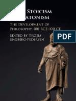 Troels Engberg-Pedersen (ed.) - From Stoicism to Platonism_ The Development of Philosophy, 100 BCE-100 CE (2017, Cambridge University Press) - libgen.lc