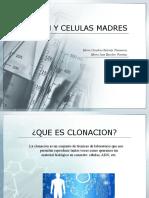CLONACION Y CELULAS MADRES