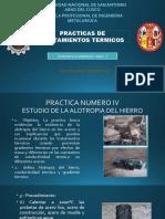 Practicas tratamientos termicos - Practica 4