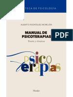 Manual de psicoterapias_ Teoría y técnicas - Alberto Rodríguez Morejón.pdf