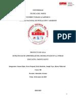 Proyecto de Aula ICA - Informe General