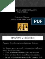 El Papel de La Administracion Financiera