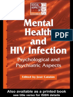 Jose Catalan - Mental Health and HIV Infection (Social Aspect of Aids Series) (1999).pdf