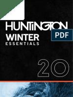 HUNTINGTON WINTER ESSENTIALS 20