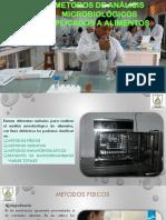 METODOS DE ANALISIS MICROBIOLOGICOS