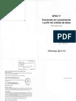 Valderrey (2010) SPSS 17, Extracción Del Conocimiento a Partir Del Análisis de Datos