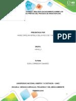 Actividad 1 - Realizar un documento sobre los conocimientos previos del proceso de investigación angie botello