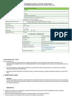 Syllabus Mercados Financieros IIPAC 2020