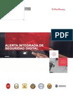 Alerta Integrada de Seguridad Digital N 082-2020-PECERT