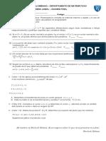 Algebra lineal C3