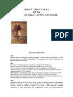HISTORIA PARTIDO NACIONAL