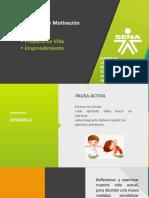 PRESENTACION No. 2 PERFIL DEL EMPRENDEDOR- PROYECTO DE VIDA