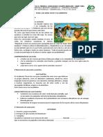 TEMA naturales los seres vivos y su ambiente grado 2° del 13 al 31 de julio