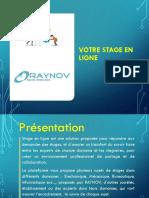 Presentation Stageenligne [RAYNOV]