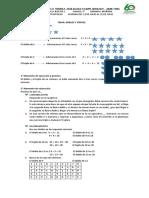 TEMA DOBLE Y TRIPLE y la multiplicacion del grado 2° semana del 13 al 31 de julio