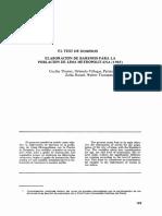 EL TEST DE DOMINOS. ELABORACION DE BAREMOS PARA LA POBLACIÓN DE LIMA METROPOLITANA.pdf