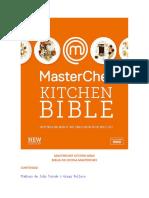 MasterChef - Kitchen Biblie - Todo lo Que Necesitas Saber para Cocinar al siguiente Nivel - New Edition.pdf