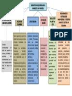 mapa conceptual evidencia