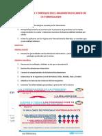 FISIOPATOLOGIA Y ENFOQUE EN EL DIAGNOSTICO CLINICO DE LA TUBERCULOSIS