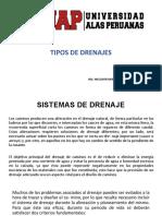 TIPO DE DRENAJES