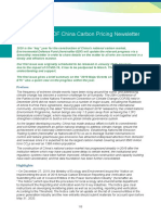 China Carbon Pricing Newsletter Issue 1
