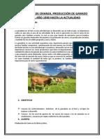 Trabajo de ganadería de carnes