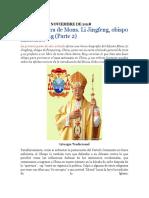 La Vida y Obra de Mons. Li Jingfeng, Obispo de Fengxiang (Parte 2)
