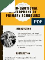 Socio-emotional-development-of-primary-schoolers