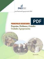 Encuesta Nacional Agropecuaria Inei 2016