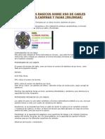CONCEPTOS BASICOS SOBRE USO DE CABLES DE ACERO