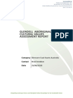 Glendell Aboriginal Cultural Values Assessment Report[3][3][1]