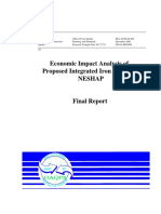 economic impact analysis of integrated iron and steelmaking