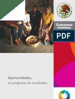 Programa Oportunidades 2010