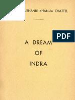 """Savitri Subhanbi Khan du Chattel. """"A Dream of Indra"""""""