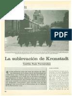 Ruíz Fernández, Teófilo -  Marzo de 1921 La sublevación de Kronstadt - [Artículo. Tiempo de Historia Nº28. Marzo 1977]
