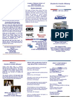 Students Inside Albany Brochure