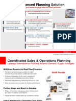Oracle R12 - Advanced Planning