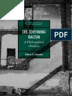 (African American Philosophy And The African Diaspora) Alberto G. Urquidez - (Re-)Defining Racism_ A Philosophical Analysis-Palgrave Macmillan (2020)