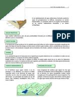 Conceptos PAEG hidrografía y biogeografía