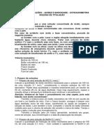 PRATICAS 2 e 3 - PREPARO DE SOLUCOES E TITULACAO
