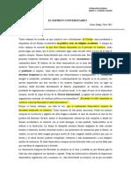 FRAGMENTO     EL ESPÍRITU UNIVERSITARIO