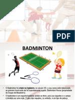 badminton e baseball