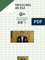 PROTAGONISTAS DEL PROCESO DE PAZ