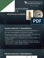UNIDAD III MEDICIÓN DE PRESIÓN
